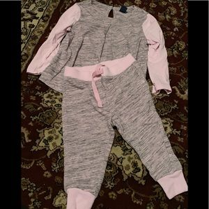 Toddler 12-18 mo sweat outfit ( lightweight )
